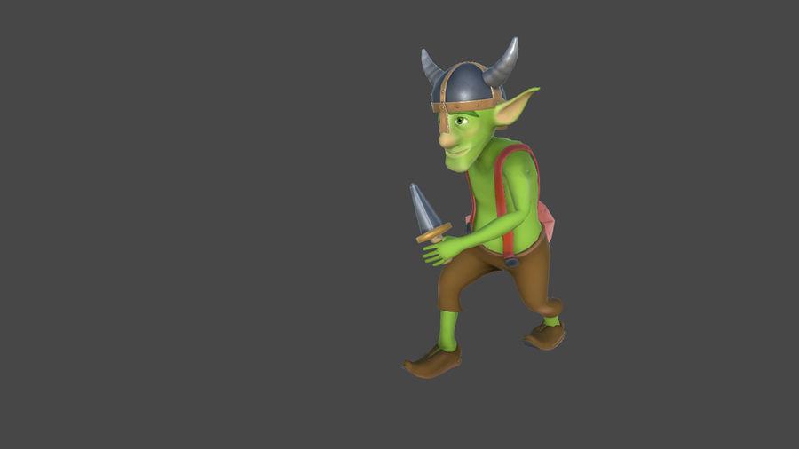 Goblins - personagens com animações royalty-free 3d model - Preview no. 4