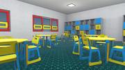 Kindergarten - Interieur und Requisiten 3d model