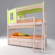 childrens bed 49 3d model