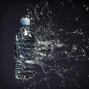 ウォータースプラッシュボトル4 3d model