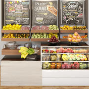 Zaprezentuj owoce i warzywa 3d model