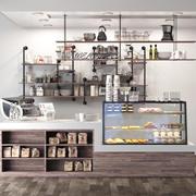 Café modelo 3d