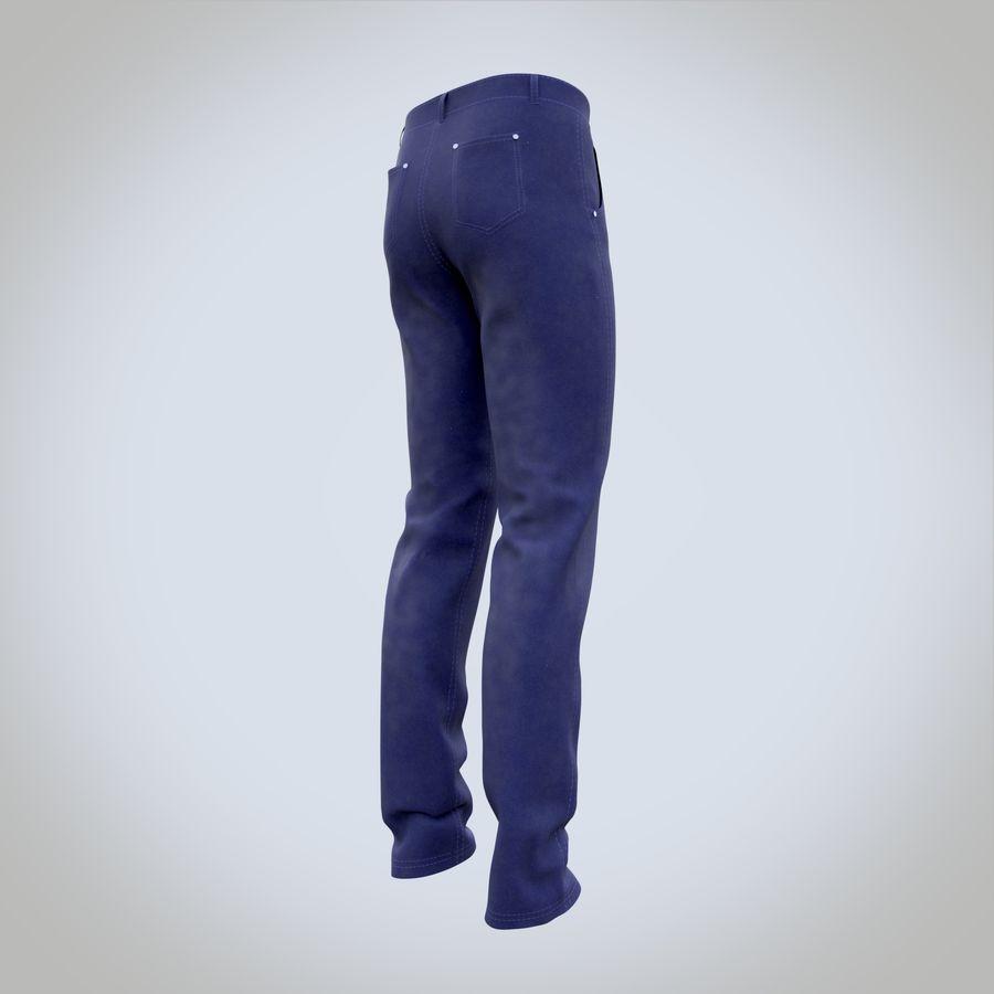 Pantalones De Mezclilla Para Hombre 1 Modelo 3d 21 Pac Stl Fbx Obj Dae Blend 3ds Free3d