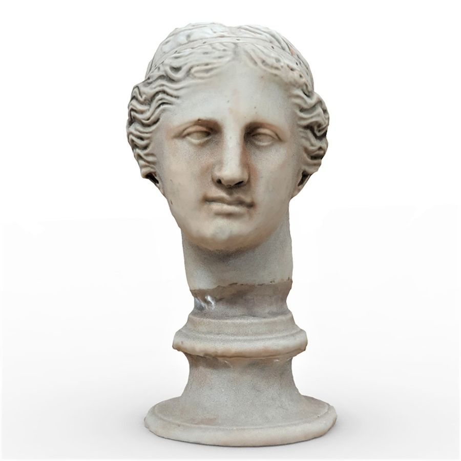 Female Bust royalty-free 3d model - Preview no. 1