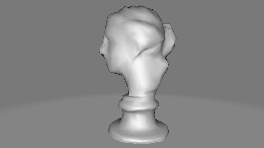 Female Bust royalty-free 3d model - Preview no. 11