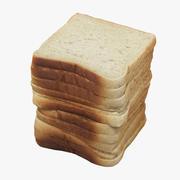 Toast 002 3d model