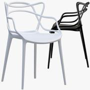 Krzesło Kartell Masters 3d model