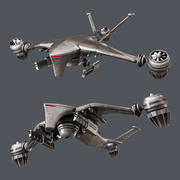 Hunter killer-drone 3d model
