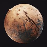 Mars High Poly 3d model