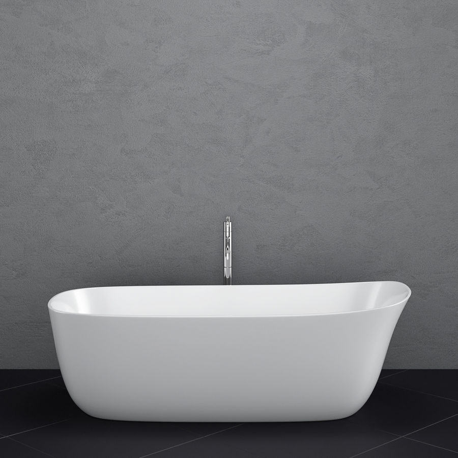 Set of freestanding baths Antoniolupi set 45 (Ago, Biblio, Dafne, Reflexmood) royalty-free 3d model - Preview no. 6
