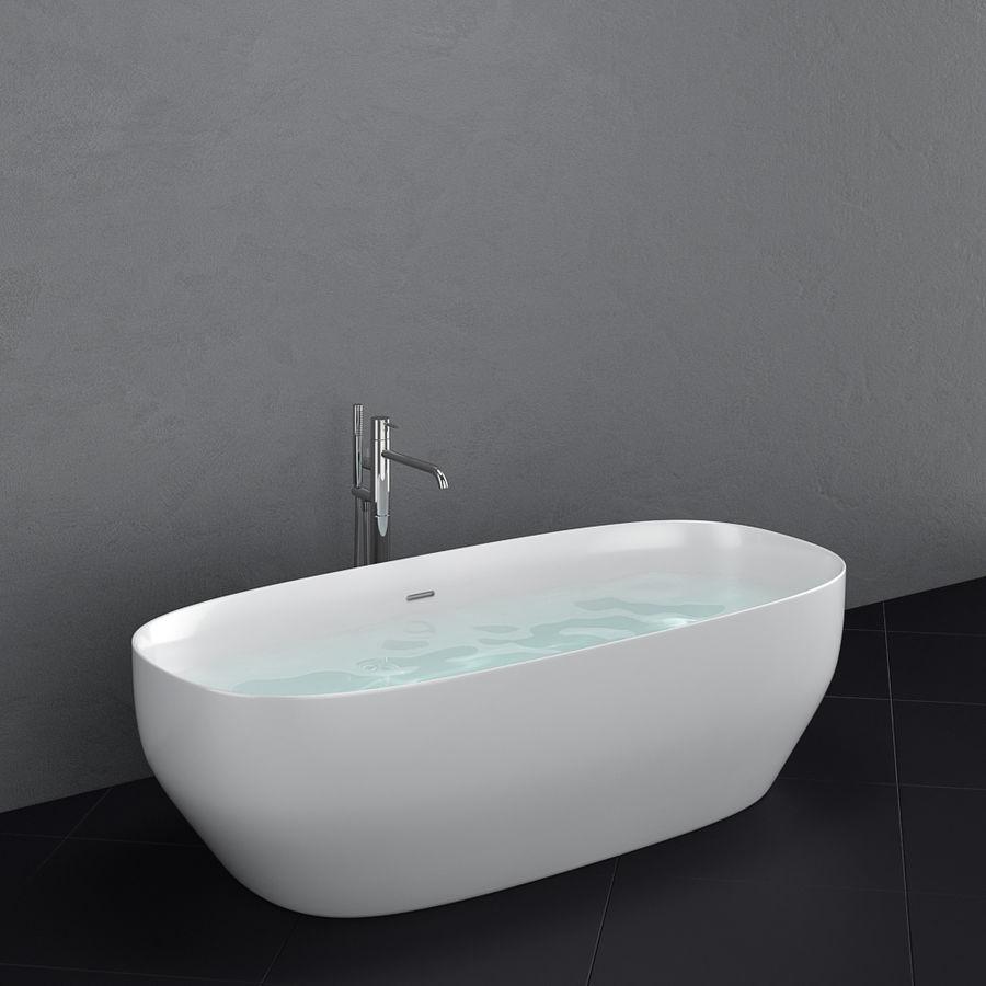 Set of freestanding baths Antoniolupi set 45 (Ago, Biblio, Dafne, Reflexmood) royalty-free 3d model - Preview no. 11