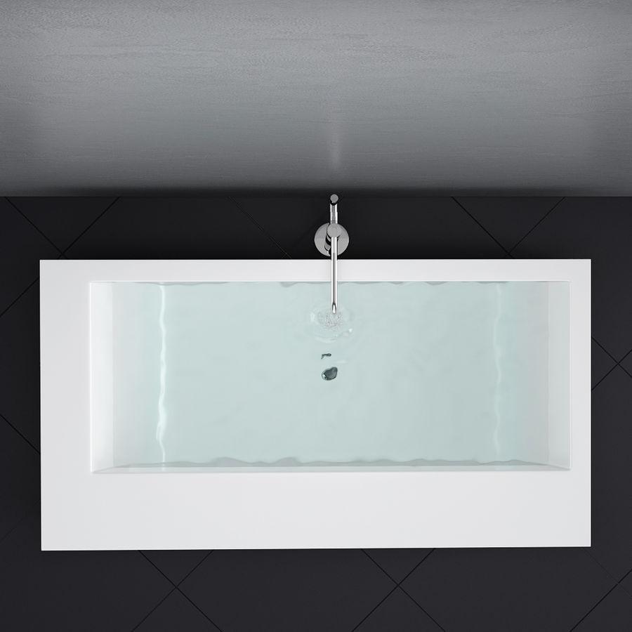 Set of freestanding baths Antoniolupi set 45 (Ago, Biblio, Dafne, Reflexmood) royalty-free 3d model - Preview no. 16