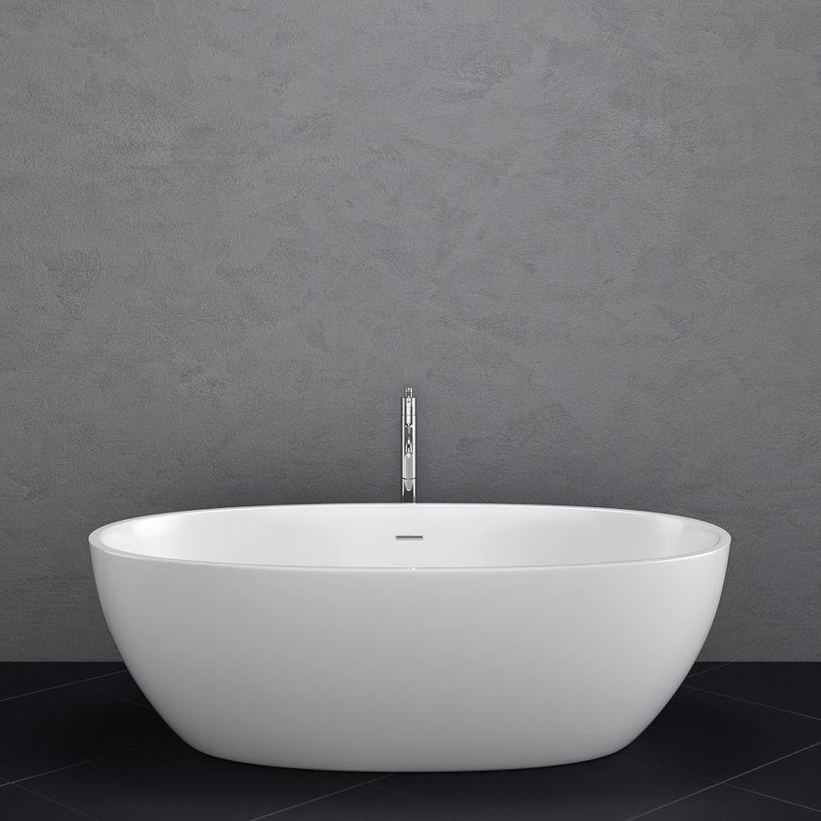 Set of freestanding baths Antoniolupi set 45 (Ago, Biblio, Dafne, Reflexmood) royalty-free 3d model - Preview no. 9