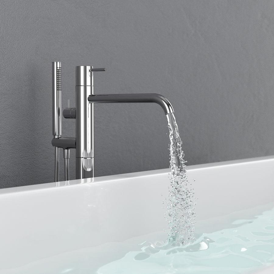 Set of freestanding baths Antoniolupi set 45 (Ago, Biblio, Dafne, Reflexmood) royalty-free 3d model - Preview no. 15
