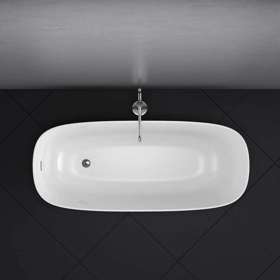 Set of freestanding baths Antoniolupi set 45 (Ago, Biblio, Dafne, Reflexmood) royalty-free 3d model - Preview no. 7