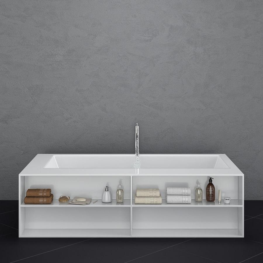 Set of freestanding baths Antoniolupi set 45 (Ago, Biblio, Dafne, Reflexmood) royalty-free 3d model - Preview no. 17