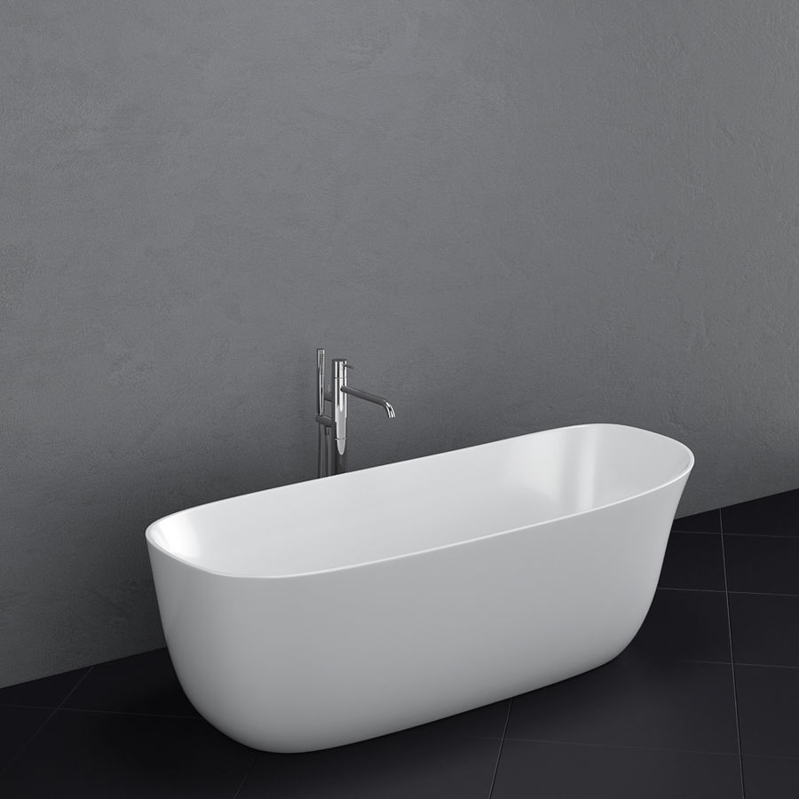Set of freestanding baths Antoniolupi set 45 (Ago, Biblio, Dafne, Reflexmood) royalty-free 3d model - Preview no. 5