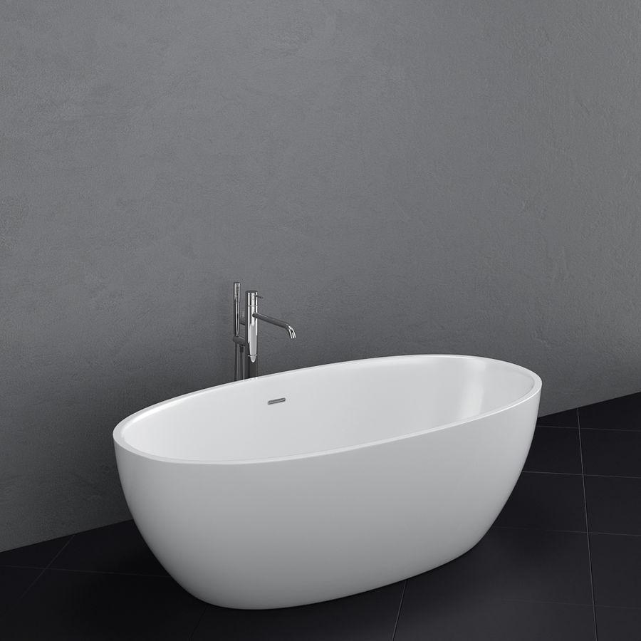 Set of freestanding baths Antoniolupi set 45 (Ago, Biblio, Dafne, Reflexmood) royalty-free 3d model - Preview no. 8