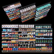 Shelves with goods 3d model