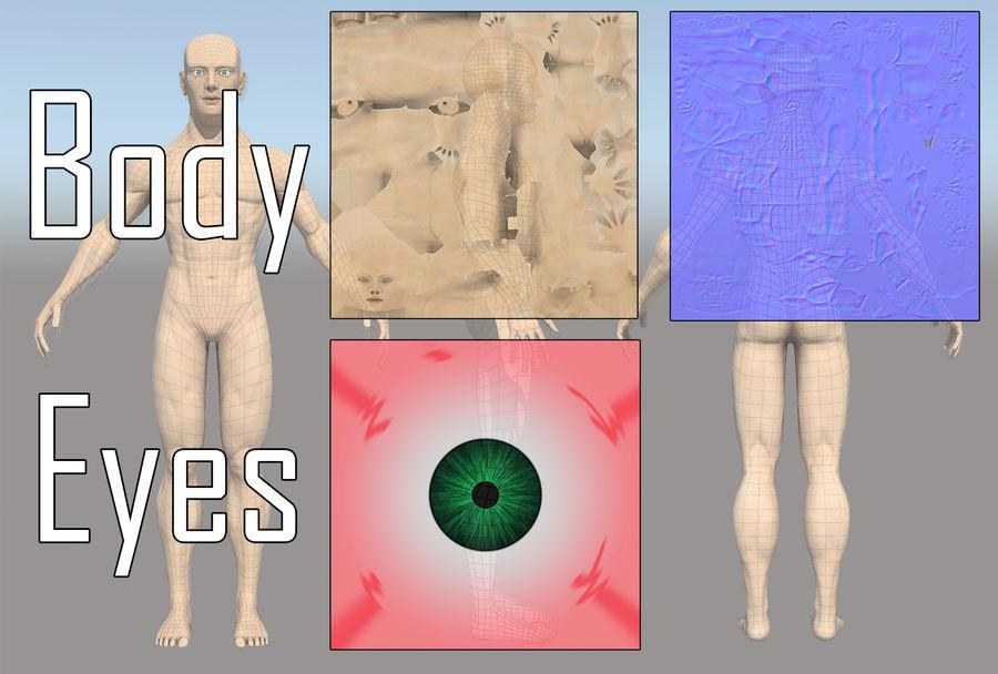 解剖学的体 royalty-free 3d model - Preview no. 4