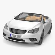 Кабриолет Дженерик 3d model