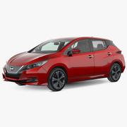 Nissan Leaf 2019 modelo 3d
