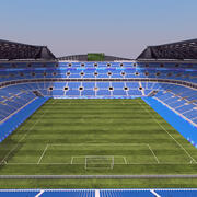 Stadio di calcio A 3d model
