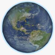Earth 8K 3d model