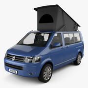 Volkswagen Transporter California 2011 3d model