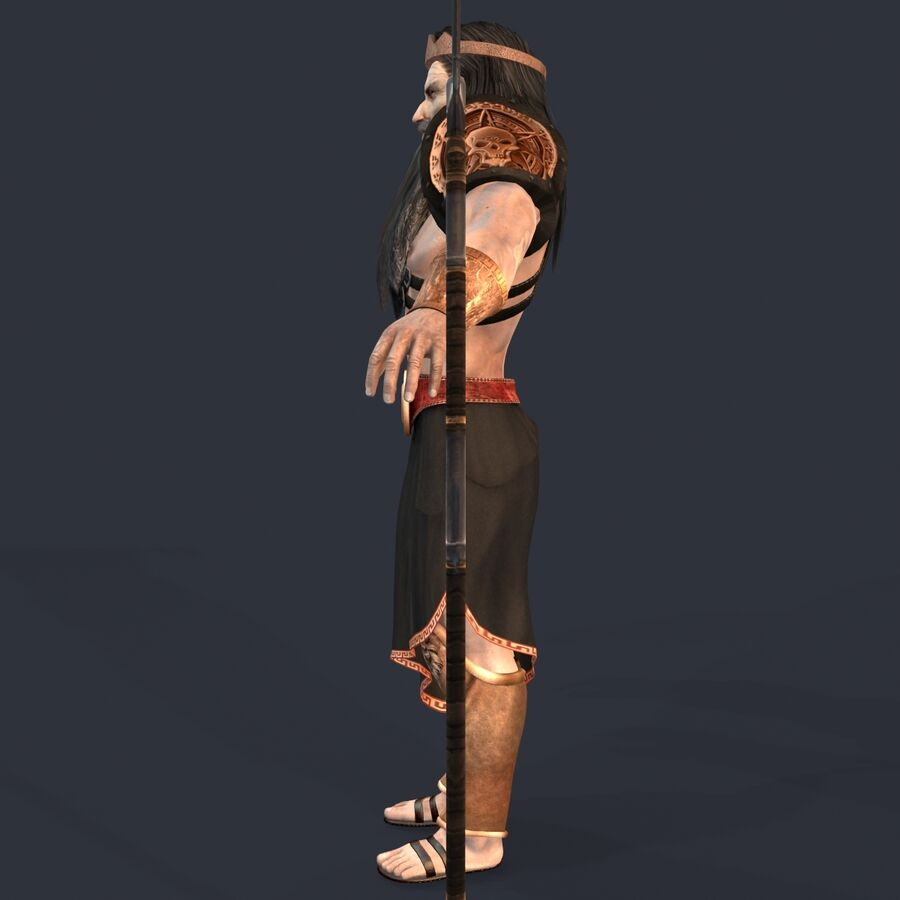 Hades royalty-free 3d model - Preview no. 4