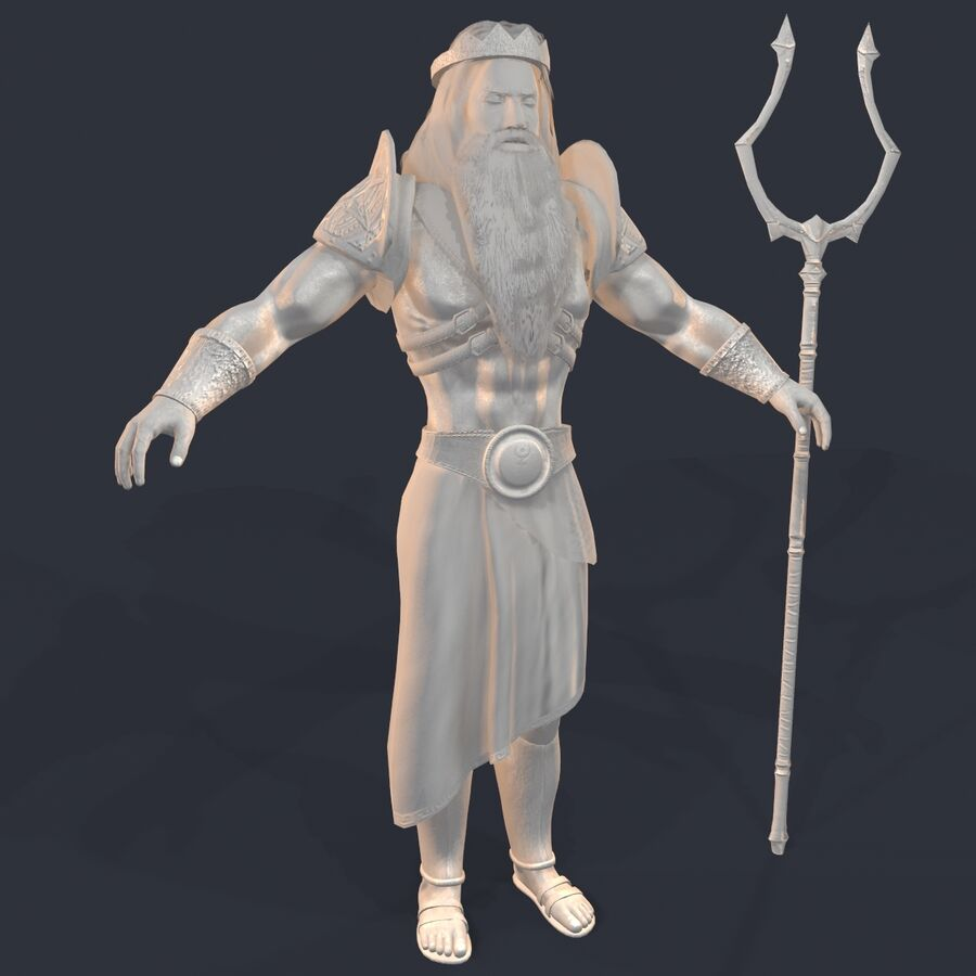 Hades royalty-free 3d model - Preview no. 22