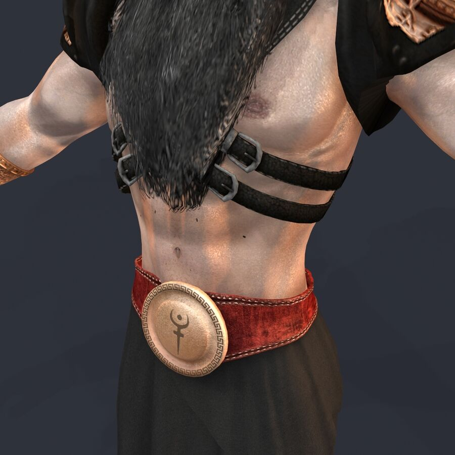Hades royalty-free 3d model - Preview no. 14
