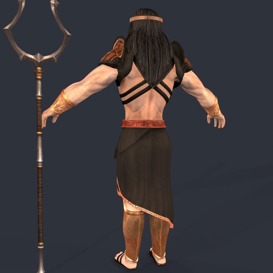 Hades royalty-free 3d model - Preview no. 5