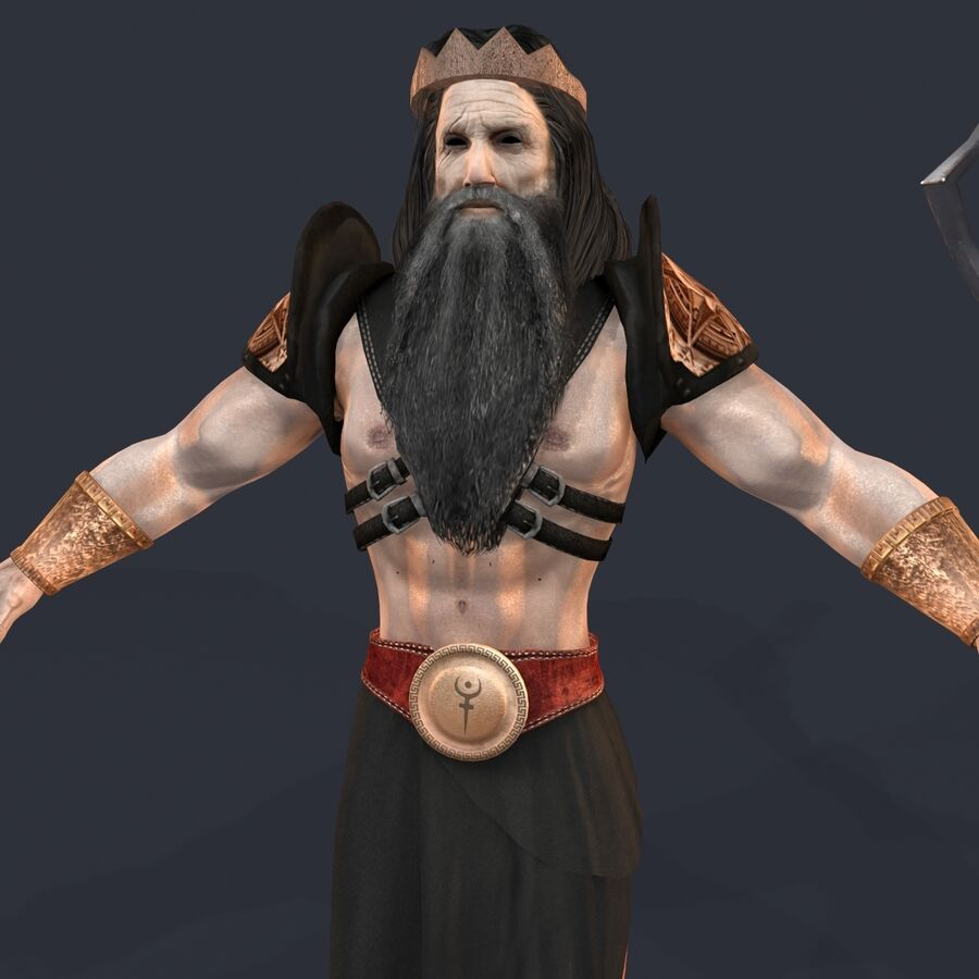 Hades royalty-free 3d model - Preview no. 10