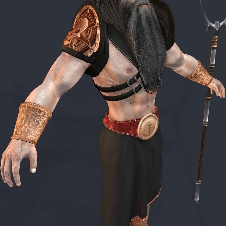 Hades royalty-free 3d model - Preview no. 18