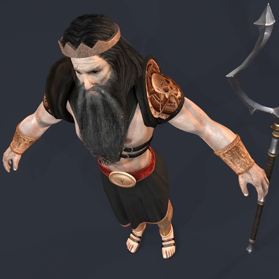 Hades royalty-free 3d model - Preview no. 19
