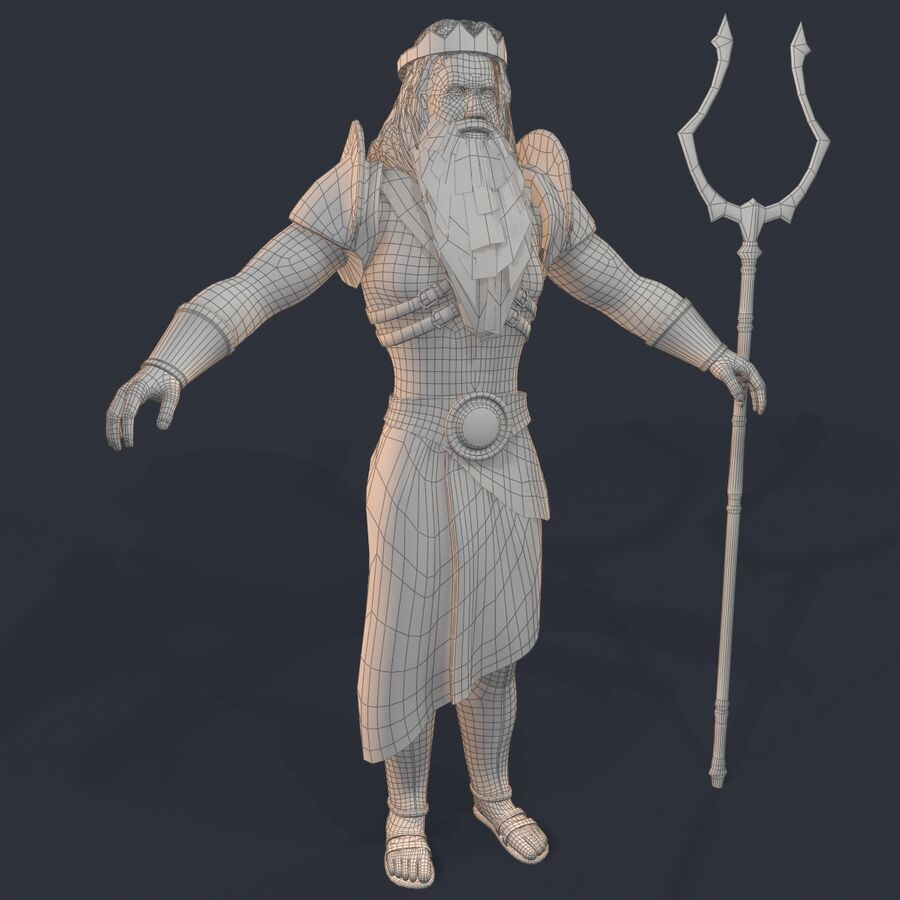 Аид royalty-free 3d model - Preview no. 25
