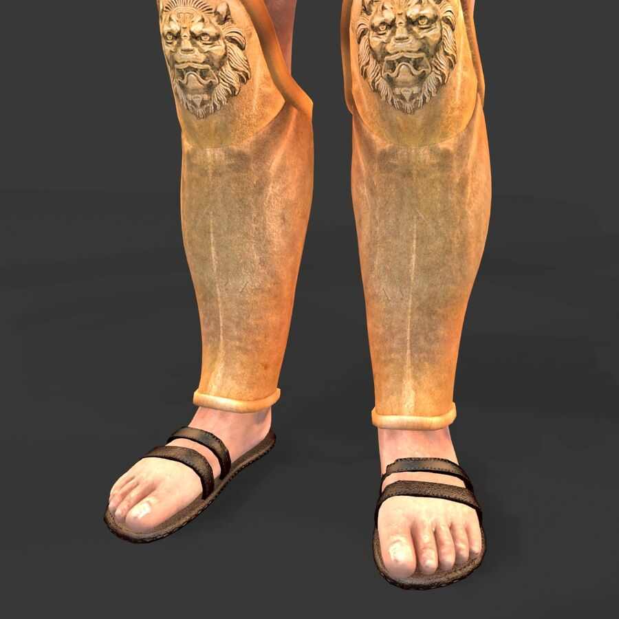 Hephaestus royalty-free 3d model - Preview no. 16