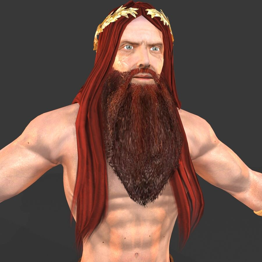 Hephaestus royalty-free 3d model - Preview no. 13