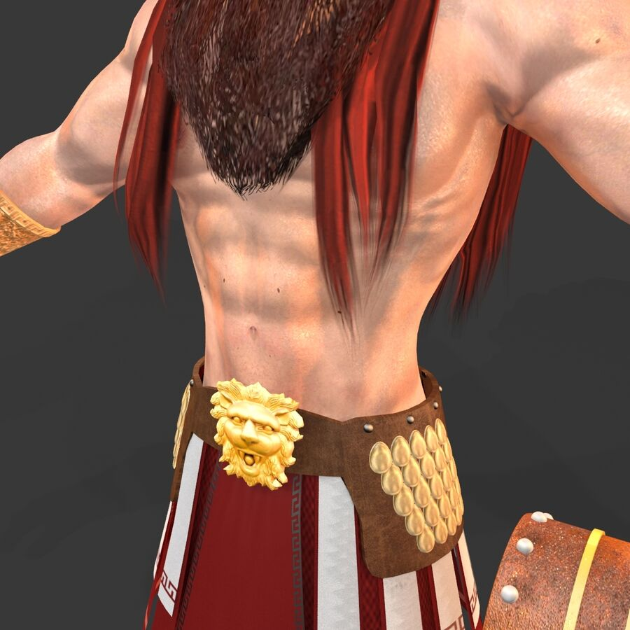 Hephaestus royalty-free 3d model - Preview no. 14