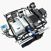 电动汽车车厢零件 3d model