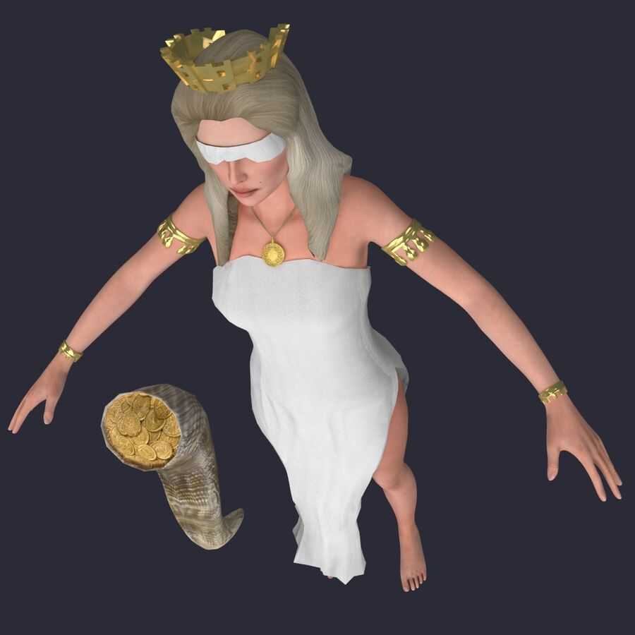 Fortune royalty-free 3d model - Preview no. 19