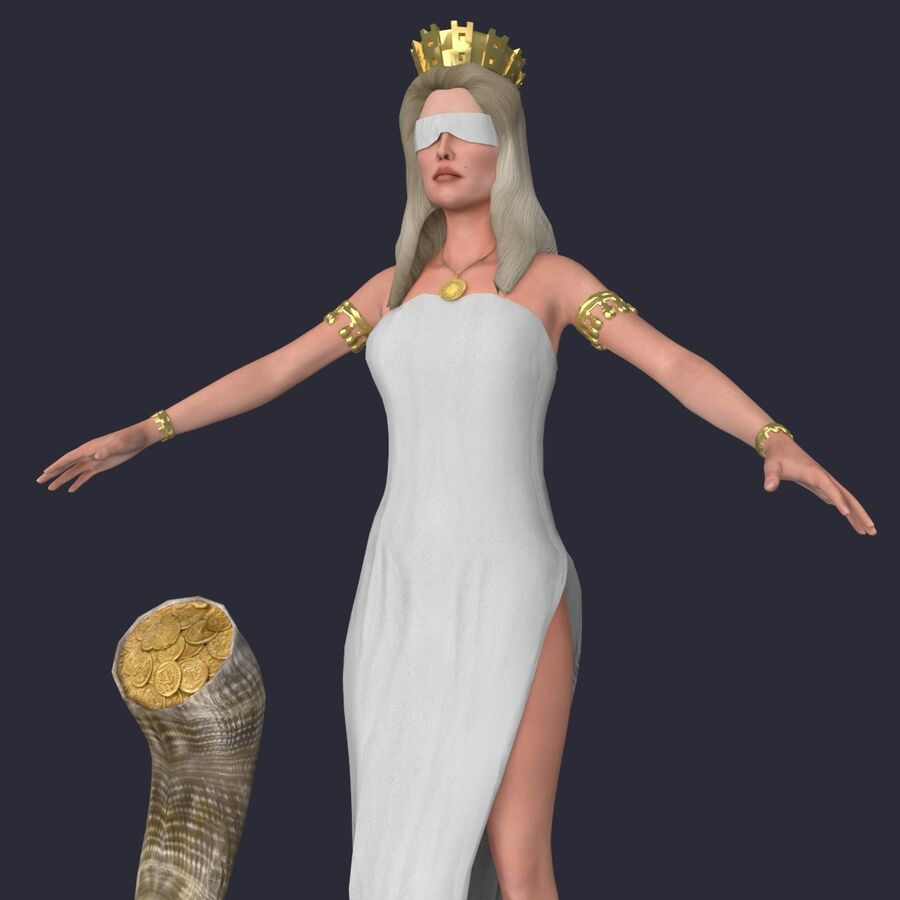 Fortune royalty-free 3d model - Preview no. 7