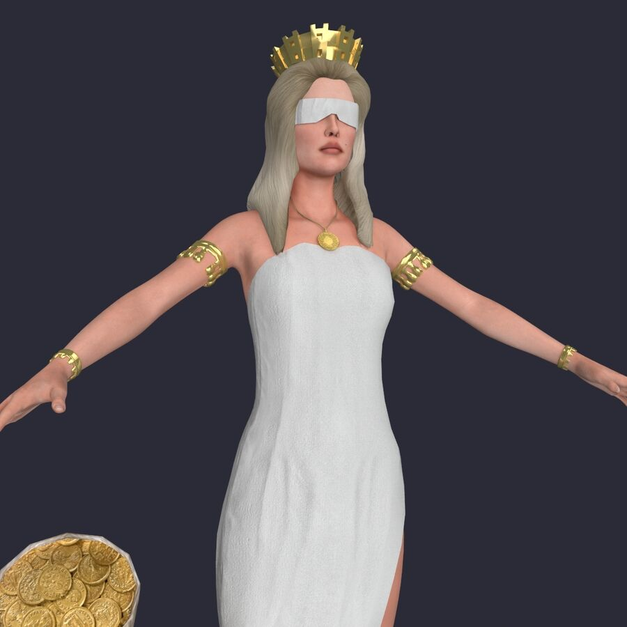 Fortune royalty-free 3d model - Preview no. 8