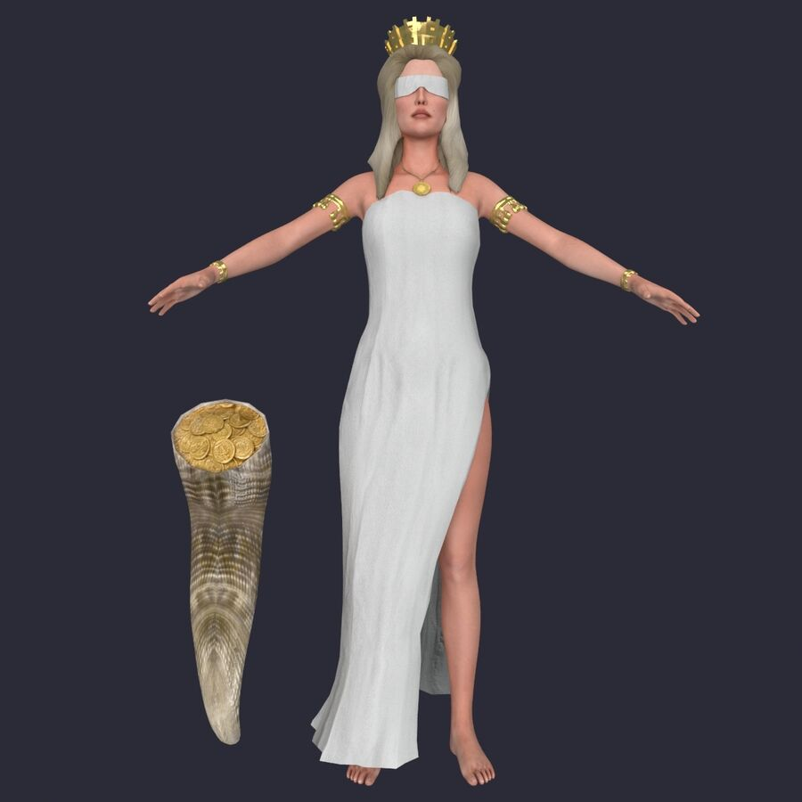 Fortune royalty-free 3d model - Preview no. 2