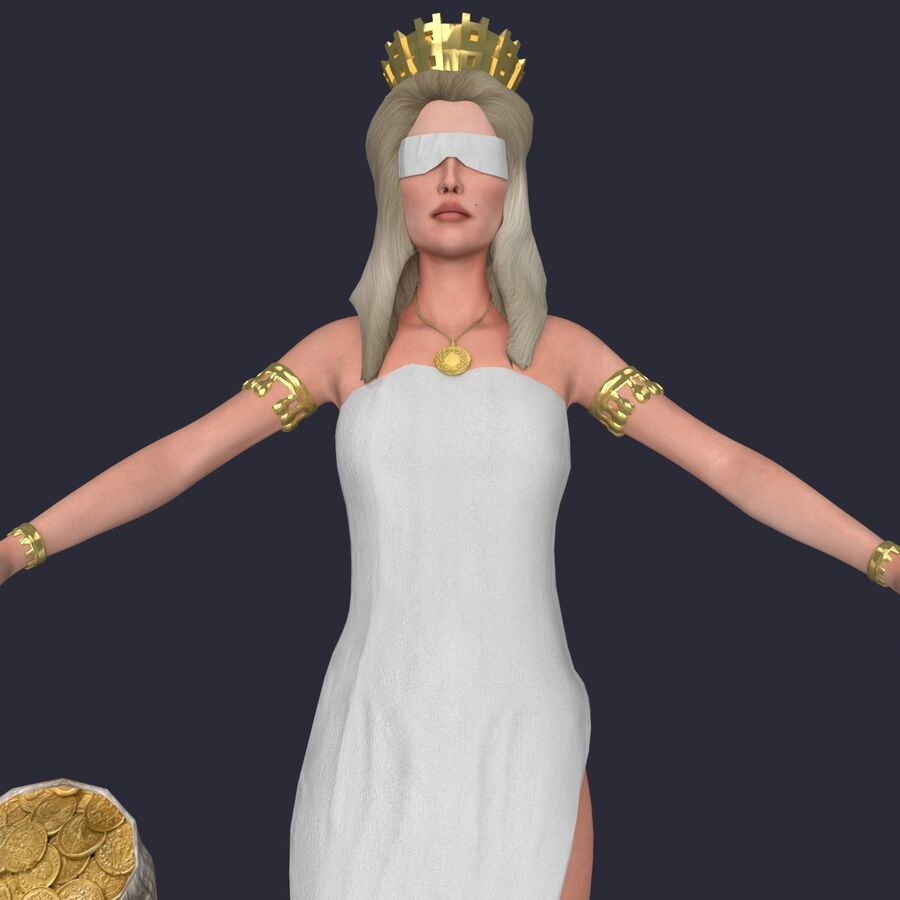 Fortune royalty-free 3d model - Preview no. 9