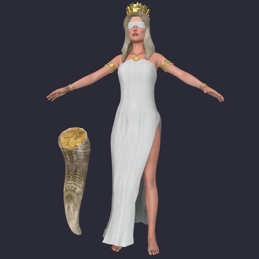 Fortune royalty-free 3d model - Preview no. 3
