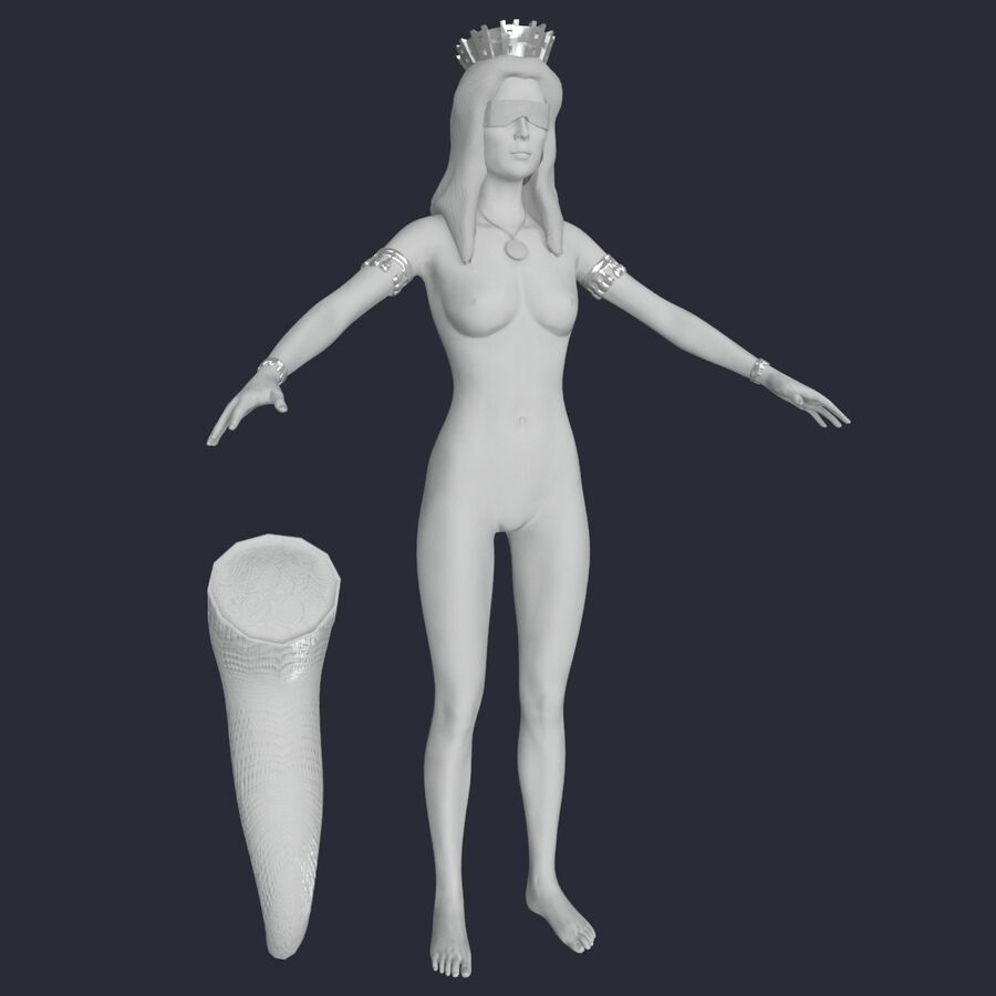 Fortune royalty-free 3d model - Preview no. 23