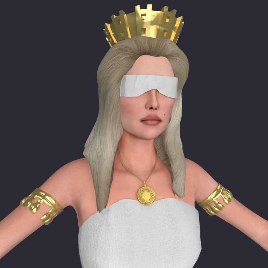 Fortune royalty-free 3d model - Preview no. 13
