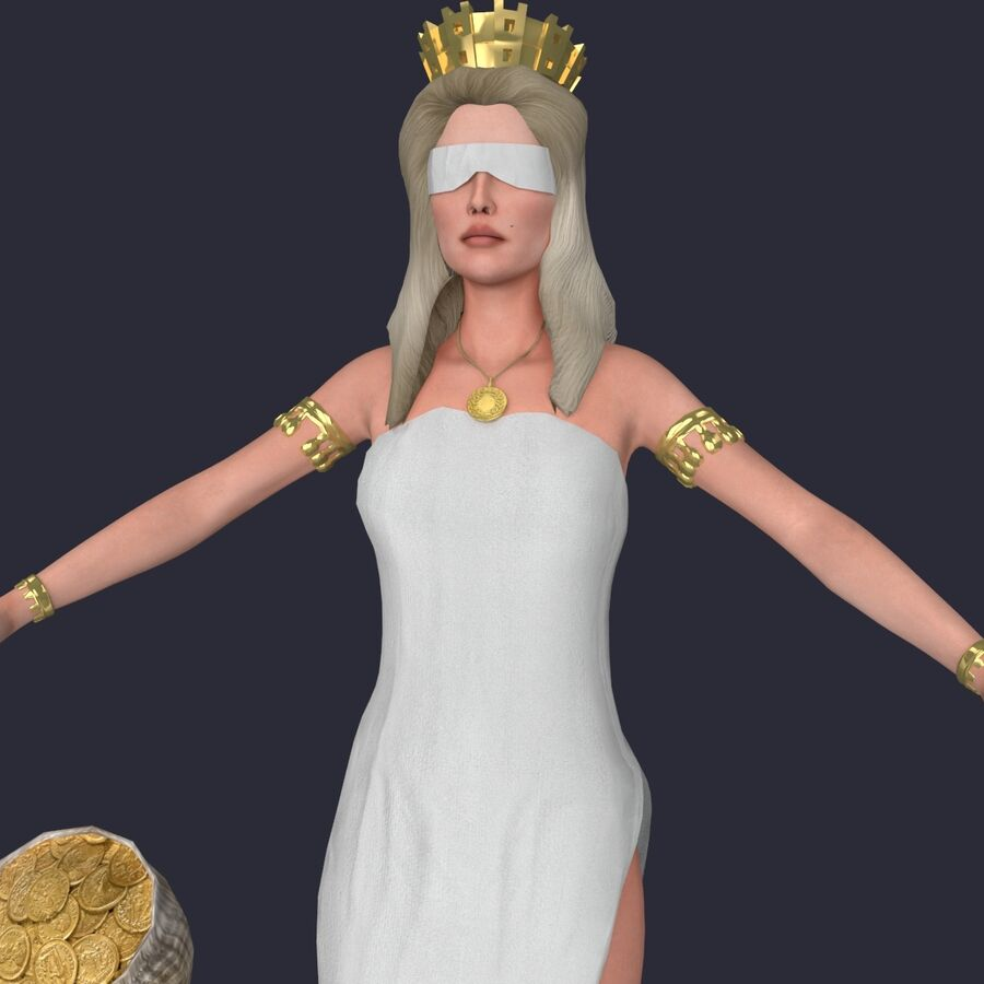 Fortune royalty-free 3d model - Preview no. 10
